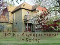 If you are thinking about buying a home, Spring is a great time!