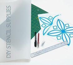diy stencil supplies