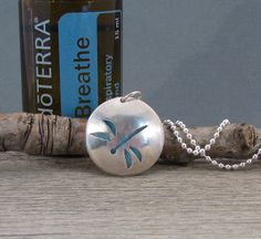 This diffuser necklace is beautiful and useful! Sterling Silver Essential Oil Necklace  by QuietTimeJewelry, $65.00