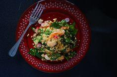 lemony bulgur salad