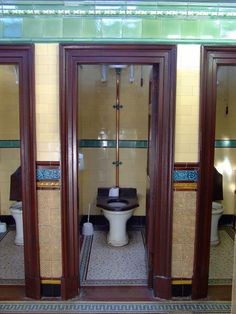 Rothesay's Victorian Toilets:: OS grid :: Geograph Britain and . Edwardian Bathroom, 1920s Bathroom, Vintage Bathrooms, Bathroom Interior, Victorian Toilet, Victorian Decor, Toilet Closet, Old Sink, Bath Tiles