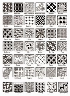 ZentangleDesigns2.jpg (886×1213)