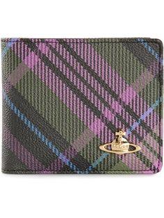 Vivienne Westwood / Check Print Foldover Wallet