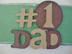 Handmade Father's Day Gift Card Holder  by PaperCraftConfession, $4.50