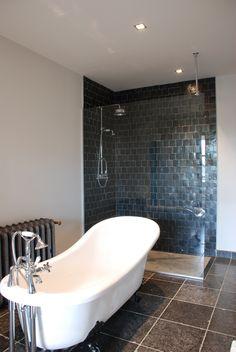 op zoek naar een originele wandbekleding voor uw badkamerdoucheruimte