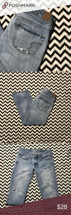 816f1160c75 🔥SUPER🔥SALE🔥 AE American Eagle Boy Fit Size 6 Crop American Eagle  Outfitters