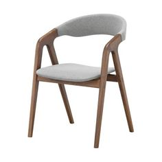 Get comfortable and take a seat in the Modloft Kaede Dining Chair . This wooden dining chair combines soft edges and fabric accents for a Scandinavian. Ikea Chair, Diy Chair, Swivel Chair, Armchair, Wooden Dining Chairs, Dining Room, Wooden Desk, Coffee Chairs, Chair Drawing