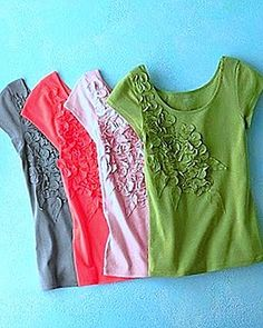 embellished t-shirts
