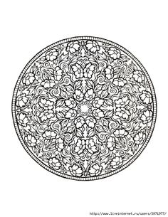 Dover Coloring Book - Mystical Mandala Coloring Book_0031 (540x700, 279Kb)