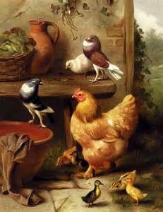 classical paintings of chickens - - Yahoo Image Search Results