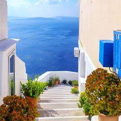 #Santorini..  with @greece.vacation