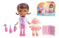 Disney Doc Mcstuffins Good As New Doc with Friends - Lambie. Doc McStuffins is the cutest little caregiver ever to kiss an 'owie' or bandage a 'boo-boo'. Just like in the show, Doc takes care of her friends problems. Now in the new smaller size, Doc is perfect for young fans to help Doc nurture and heal her friends. - To order: http://www.shopaholic.com.ph/#!/Disney-Doc-Mcstuffins-Good-As-New-Doc-with-Friends-Lambie/p/51500426/category=6708179