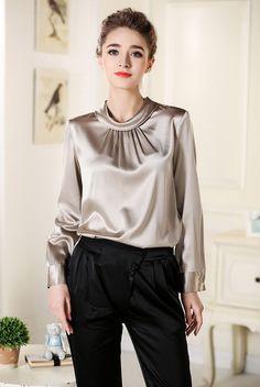 Mulberry silk blouse