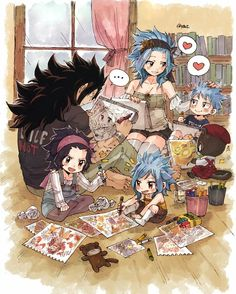 Gajeel x Levy / Fairy Tail Fairy Tail Levy, Fairy Tail Ships, Rog Fairy Tail, Fairy Tail Amour, Anime Fairy Tail, Fairy Tail Comics, Fairy Tail Funny, Fairy Tail Art, Fairy Tail Guild