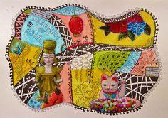 Collage & Zentangles