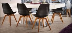 """Around the table they look beautiful.  Chair """"Bess"""" from Trendhopper."""