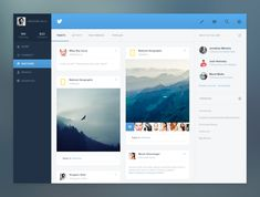 Twitter discover concept by Grégoire Vella