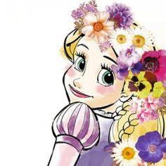 Disney Rapunzel, Disney Pixar, Deco Disney, Princess Rapunzel, Tangled Rapunzel, Disney Kunst, Arte Disney, Disney Fan Art, Disney Love