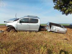 BLOG DO MARKINHOS: Grave acidente com S10 na PR-082 próximo de São Jo...