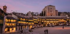 Balconies in Chinchon Plaza | Madrid