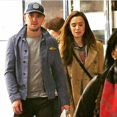 Tom and Jade shopping