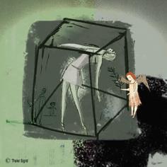 Hoffnung by Sigrid Thaler Digital Art, Painting, Design, Painting Art, Paintings, Paint, Draw, Design Comics