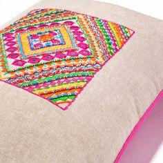 Coussin en coton multicolore 50 x 50 cm MANIKA | Maisons du Monde