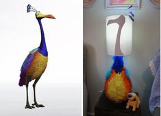 Kevin Lamp from a Disney Pixar Up Nursery