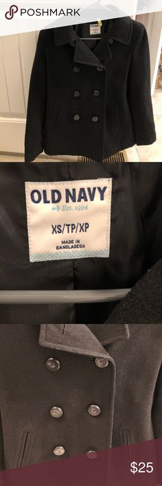 ☃️ Old Navy PeaCoat -OFFERS WELCOME!!! Old Navy Pea Coat  size extra small just got dry cleaned Old Navy Jackets & Coats