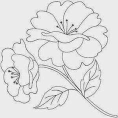 96 Mejores Imagenes De Flores Bordar Embroidery Patterns Print