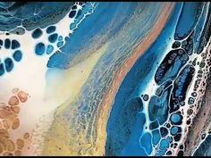 Acrylic Pour 5 flip cups Part 1 of 2 HAPPY NEW YEAR!! - YouTube Acrylic Pouring Techniques, Acrylic Pouring Art, Acrylic Art, Flow Painting, Pour Painting, Artist Loft, Flow Arts, Mixed Media Canvas, Banksy