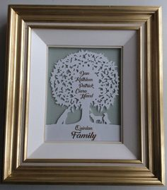Personalised papercut family tree 'apples and by DinkyThings Beautiful Family, Paper Cutting, Pet Dogs, Paris Skyline, Tea Pots, Great Gifts, Family Family, Grandparents, Apples