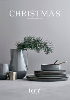 I am so thankful that I had opportunity be part of this wonderful project. With this magazine Ferm Living gives . Corporate Christmas Gifts, Dining Ware, Vases, Client Gifts, Ceramic Design, Modern Christmas, Home Decor Furniture, Ceramic Pottery, Decorating Tips