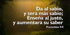 Resultado de imagen para proverbio 9 10