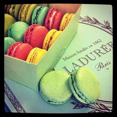 Ladurée in Paris, Île-de-France- I will sit in Laduree and eat a macaron one day!