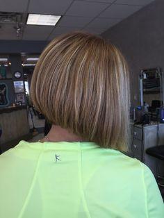 Bob haircut & highlights