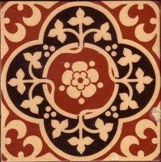 Glazed Encaustic Tiles - Minton & Co