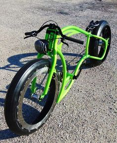 chopper trike old school . Lowrider Bicycle, Trike Bicycle, Cruiser Bicycle, Motorized Bicycle, Vw Trike, Trike Motorcycle, Bicycle Paint Job, Bicycle Painting, Velo Retro