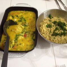 Blumenkohl-Kokos-Curry mit Bulgur (aus Buch: Wertvoll genießen) von Nifa81 auf www.rezeptwelt.de, der Thermomix ® Community
