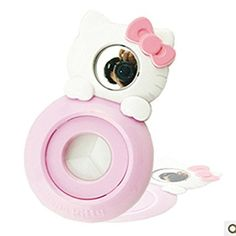 CLOVER Close Up Lens White KT Cat Self-portrait Mirror For Fujifilm Instax Mini 7s 8 Instant Camera -- White