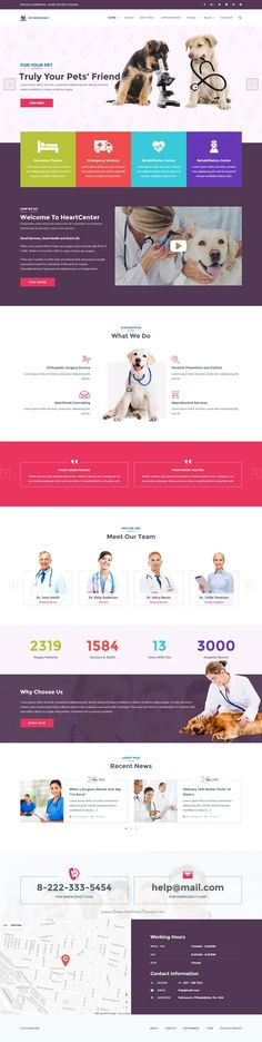 MedicPlus is beautifully design #WordPress template for #veterinary #clinic and medical service website with 16+ stunning homepage layouts download now➯ https://themeforest.net/item/medicplus-health-medical-wordpress-theme/16440223?ref=Datasata