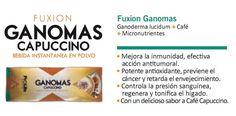 ¿Quieres mejorar tu sistema inmunológico? Toma productos naturales... Fuxion Ganomas Capuccino.  Adquiérelo aquí: iristeheran.soyfuxion.net iristeheranfuxion@gmail.com 3016315118