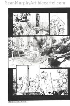 Image of Tokyo Ghost, Issue 10 pgs 20-21