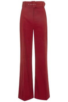 High-Waisted Cord Flares by Topshop Archive