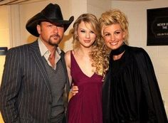 w/Tim McGraw & Faith Hill at the CMT Awards 2008