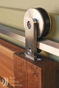 Sliding door hardware