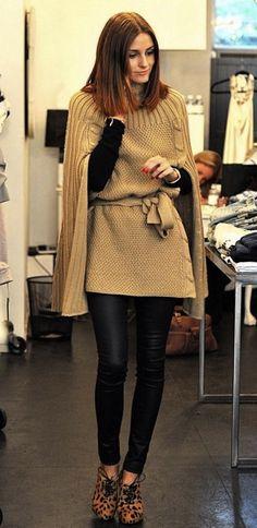 cheetah heels make this outfit olivia