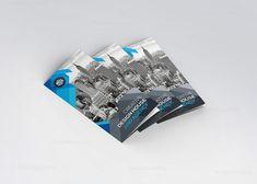 Design Studio Modern Tri-Fold Brochure Template 000749