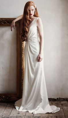 Charlotte Balbier Spring 2014 Bridal Collection: A Decade of Style | bellethemagazine.com