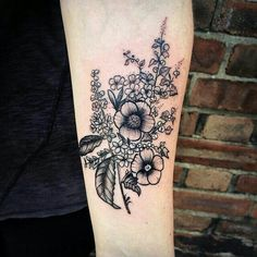 Flower tat